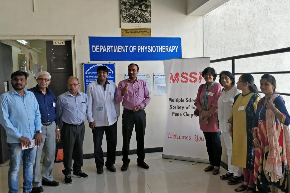 Phyisiotherapy Camp, Pune – Multiple Sclerosis Society of