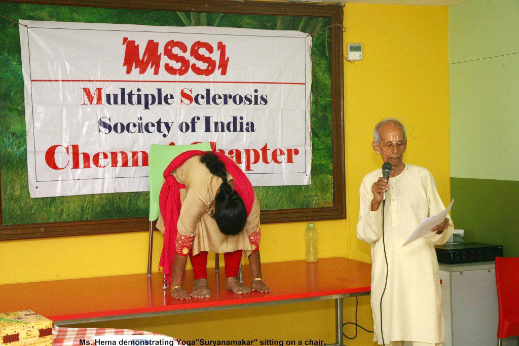 Surya Namaskar – power for health.