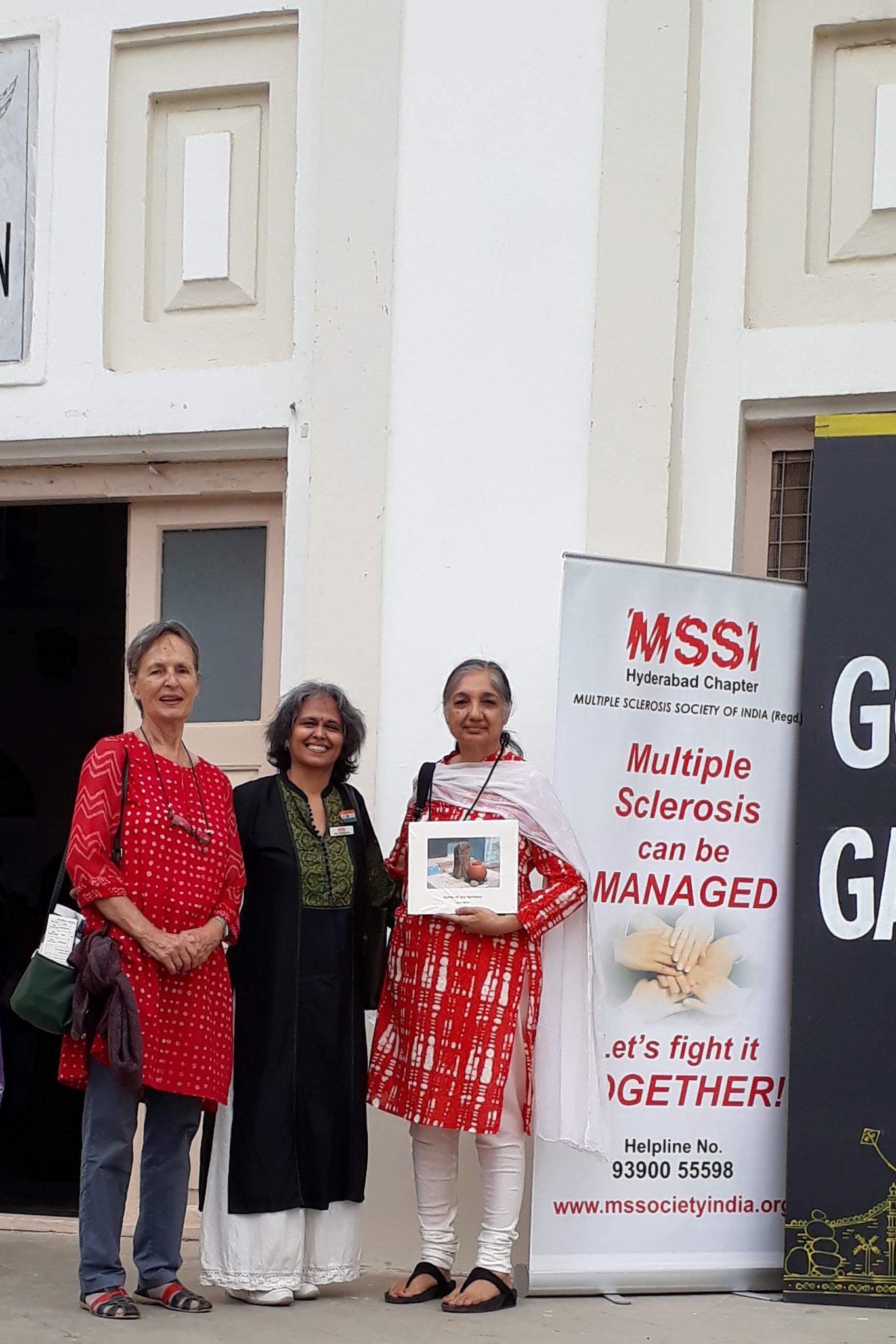 MSSI Awareness at Hyderabad Literary Fest