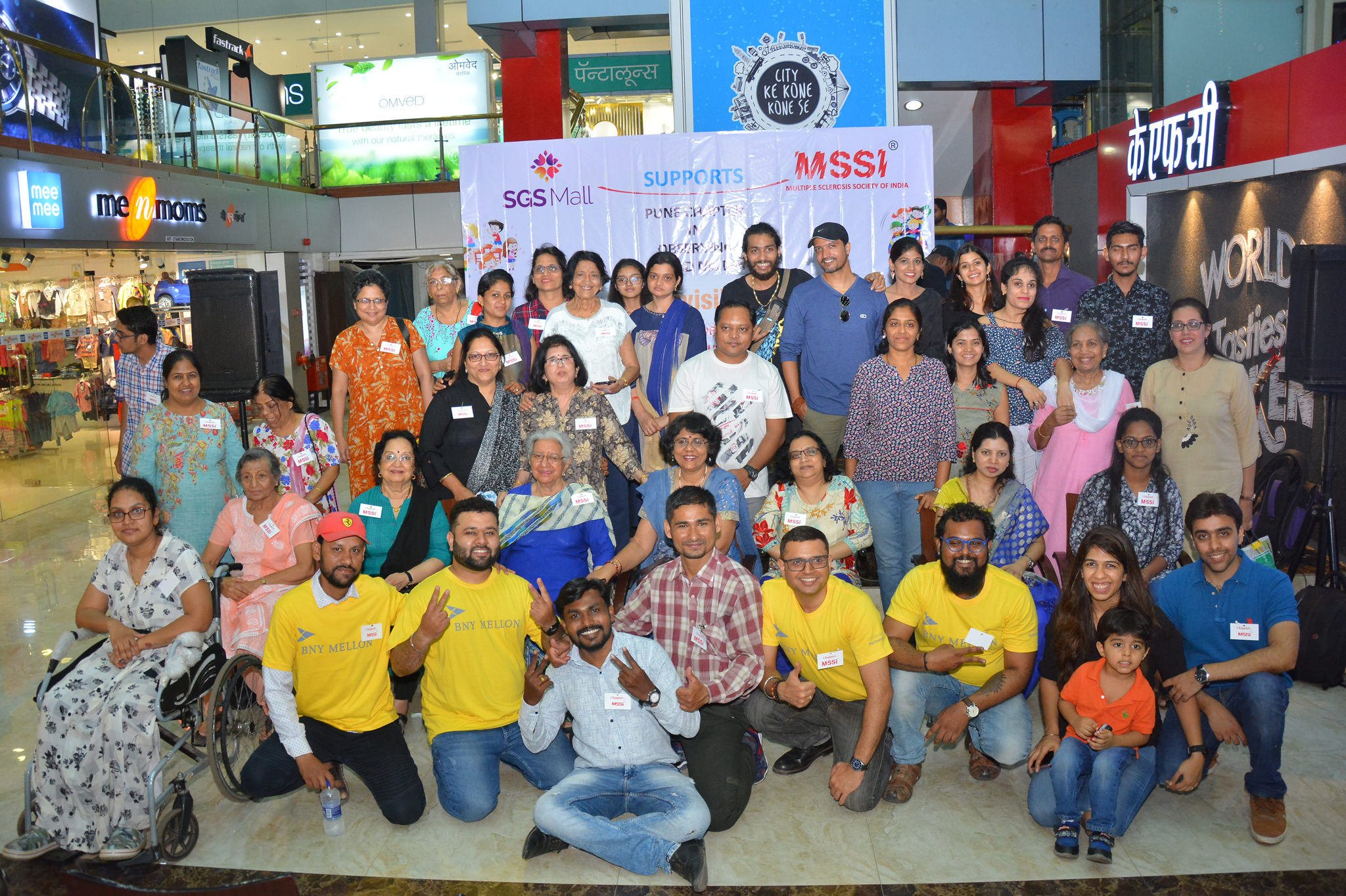 Awareness Event at SGS Mall