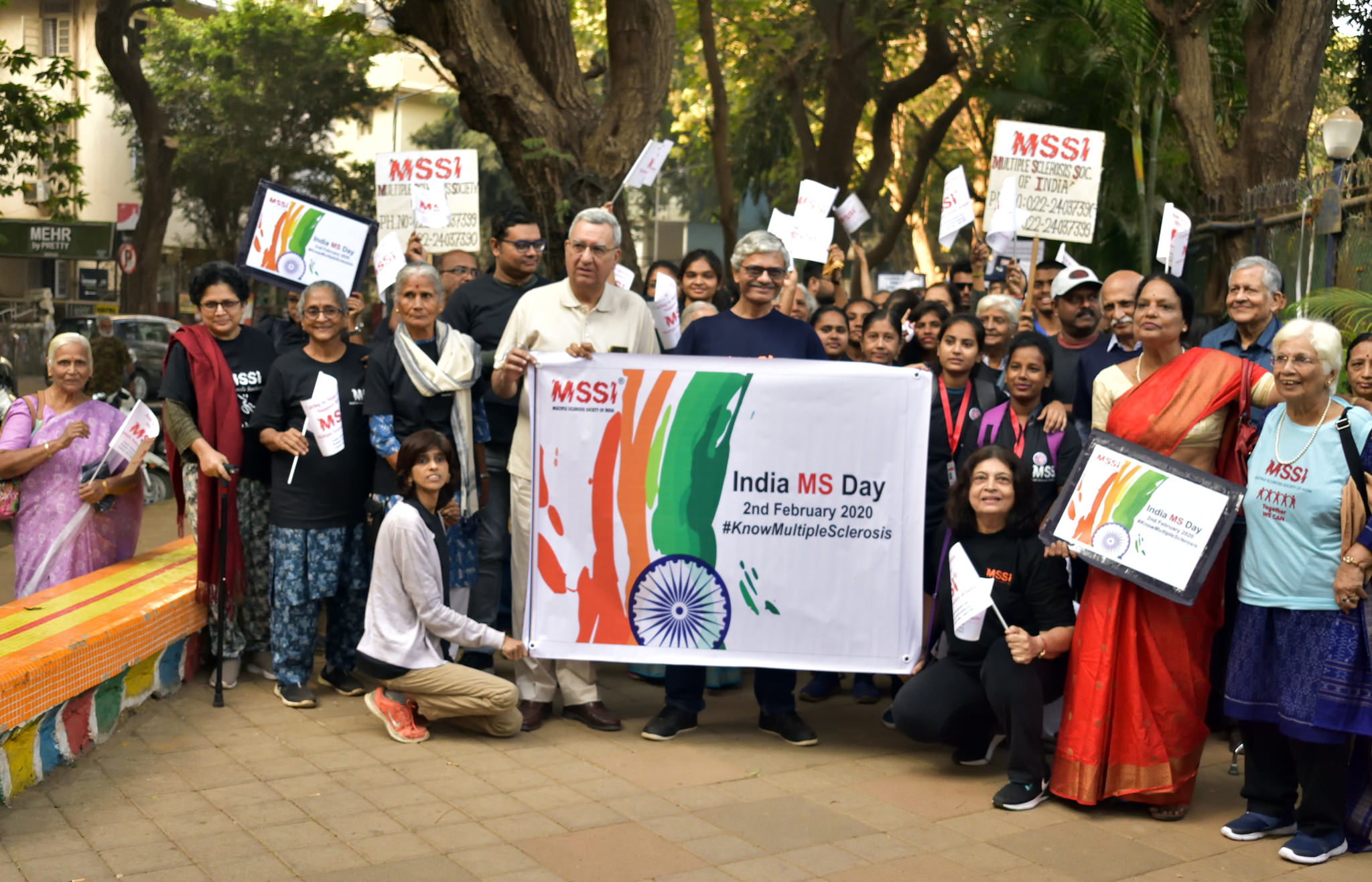 MS Walk on INDIA MS DAY – 2020
