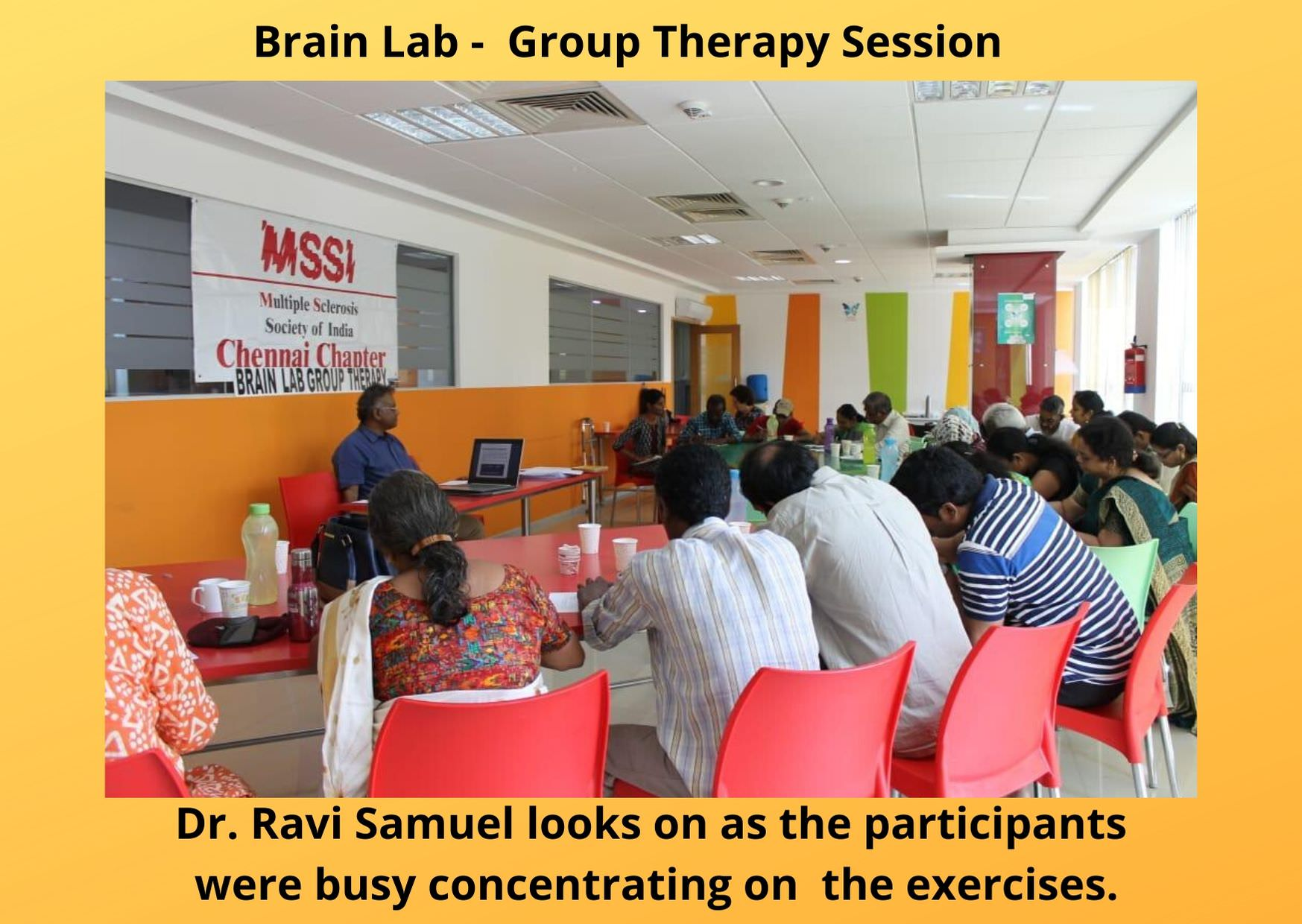 Brain Lab Group Therapy Session
