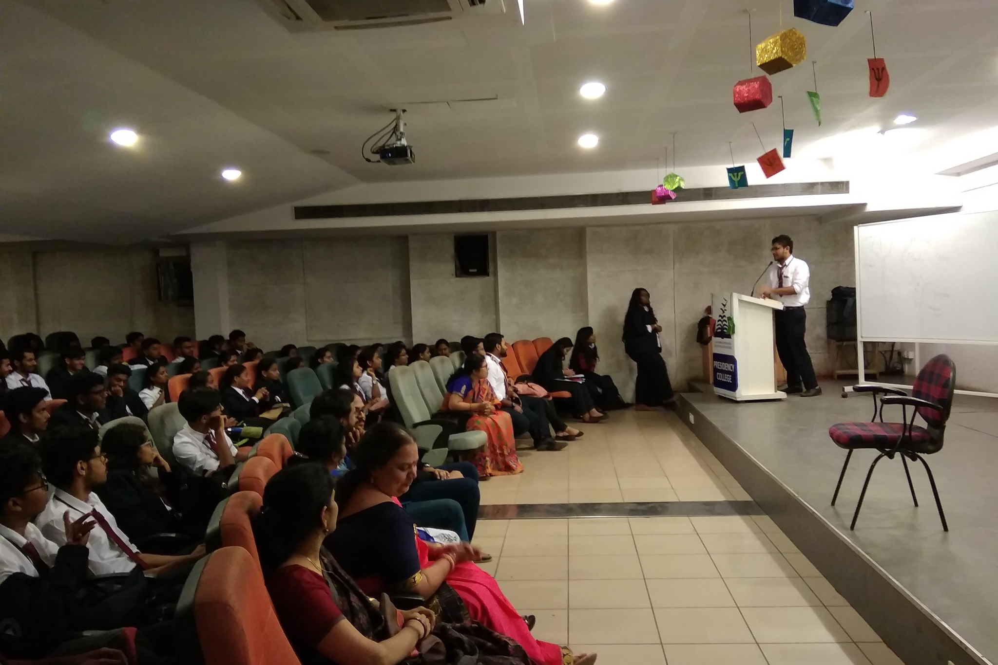 Awareness Program in Presidency College