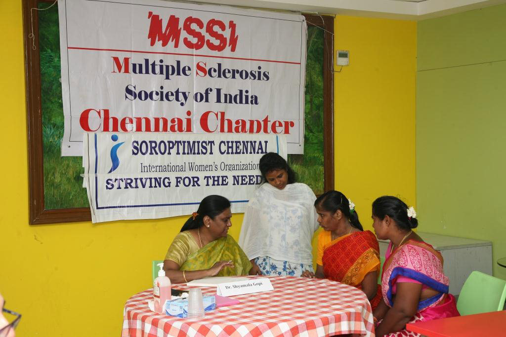 Incontinence in MS – Chennai